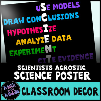 Science Poster - Traits of Scientists Image