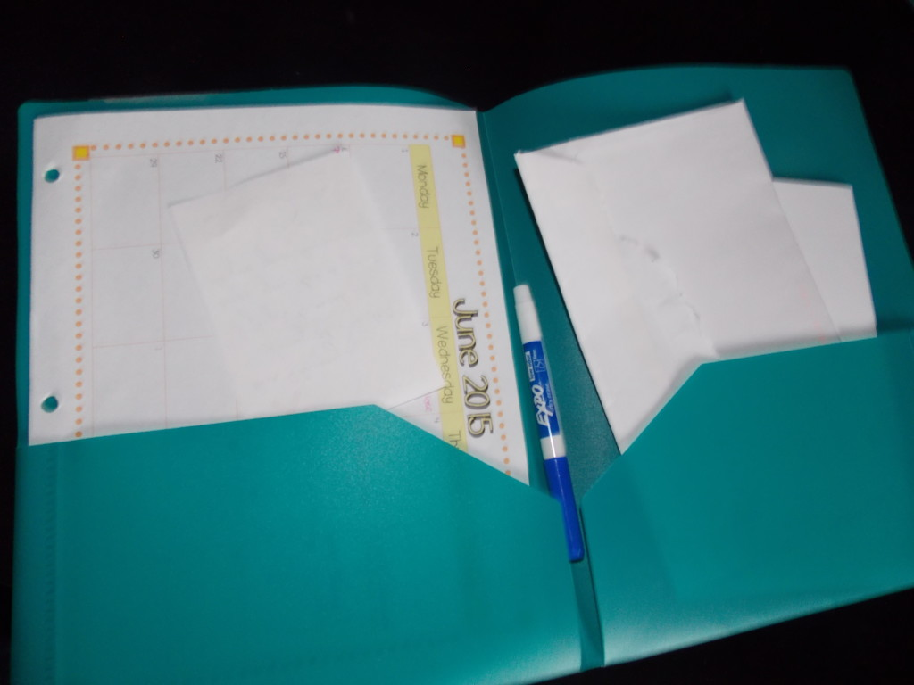 Organized Dismissal Folder Dry Erase Changes| Math in the Middle Blog