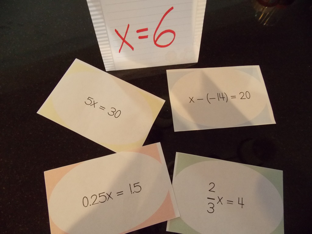 math-in-the-middle.com|matching task cards for grouping pic1