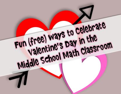 valentines day math in the middle