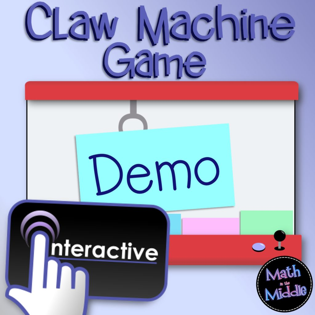 claw machine demo game