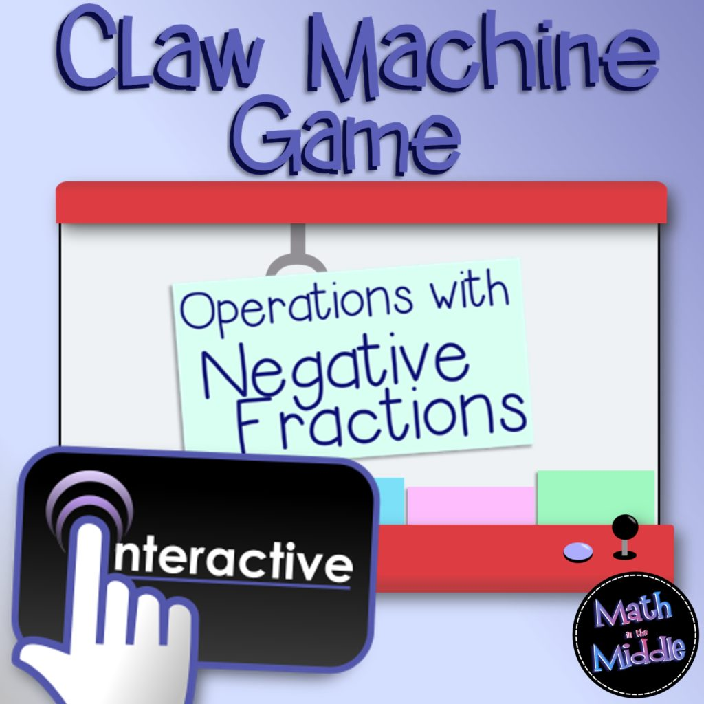 negative fractions claw machine pic1
