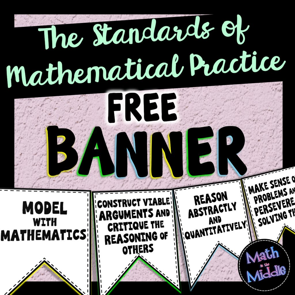 math practice banner cover