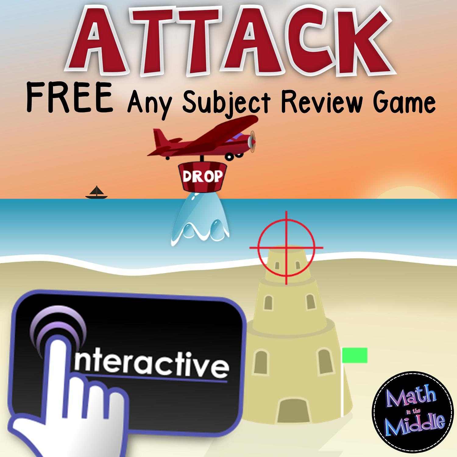 Attack Interactive - A FREE Game for Any Grade Level or Subject Image