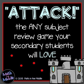 Attack - A FREE Review Game for the Secondary Classroom Image