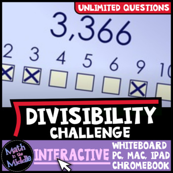 Divisibility Rules Interactive Game Image