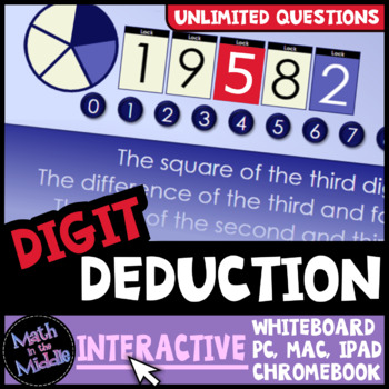 Digit Deduction Interactive Game Image