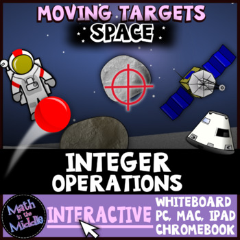 Integer Operations Moving Targets Interactive Review Game Image