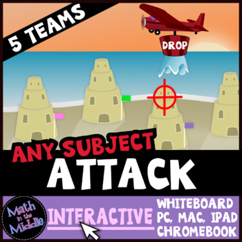 Attack Interactive - A Review Game for Any Subject and Grade Level Image
