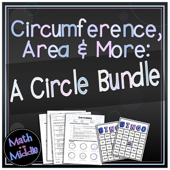 Circumference, Area, and More: A Circle Bundle Image