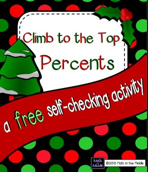 Climb to the Top Percents FREEBIE Image