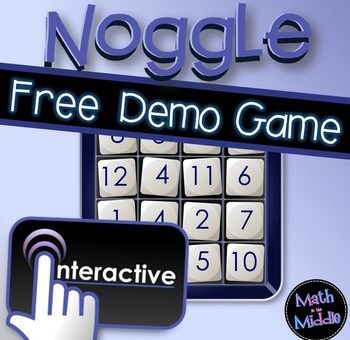 Games in the Math Classroom – Noggle