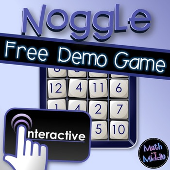 Noggle Interactive Game - FREE Review Game Demo Image
